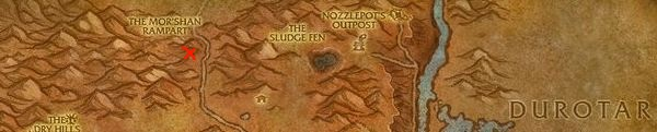 how to get to southern barrens from northern