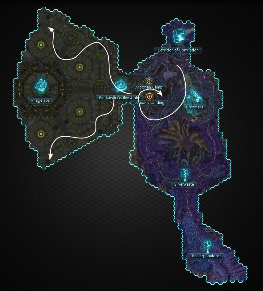 kinetic  relic nodes northern grimvault